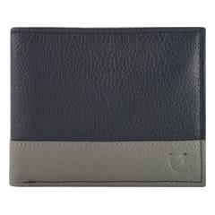 Titan Leather Blue Wallets for Men-TW175LM1BU