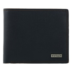 Titan Leather Wallet for Men-TW181LM1BU