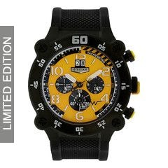 Titan Yellow Dial Chronograp For Men