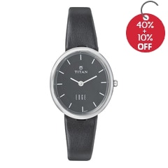 Titan Black Dial Analog Watch for Women-2517SL02