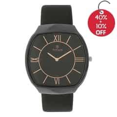 Titan Ceramic Analog Watch For Men-90015KL01J