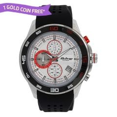 Titan Octane Silver Dial Chronograph Watch for Men