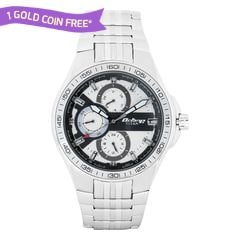 Titan White Dial Multifunction Watch for Men-90041SM01J
