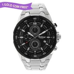 Titan Black Dial Analog Watch For Men-90044KM02J
