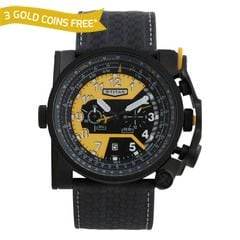 Titan YELLOW Dial Chronograp Watches for Men