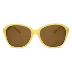 Fastrack Yellow Sunglasses For Women-P176BR1FP