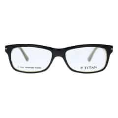 Titan Eyeplus Full Rim Rectangle Frame for Men