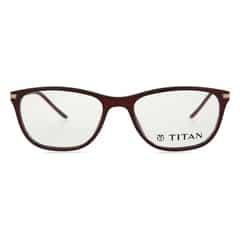 Titan Eyeplus Full Rim Cateye Frame for Women