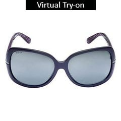 Glares by Titan White and Purple Color Sunglass For Women-G173PAFL9A