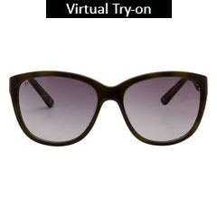 Glares by Titan Green Color Sunglass For Women-G178CLFLAC