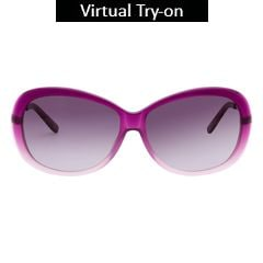 Glares by Titan Pink Color Sunglass For Women-G182CLFLAC