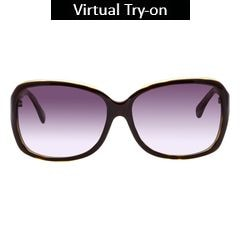 Glares by Titan Green Color Sunglass For Women-G183CLFLAB