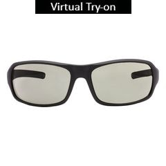 Glares by Titan Matt Grey Color Sunglass For Men-G192PLMLMC