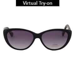 Titan Eye Plus Glares Plastic Acetate Demi brown Sunglass for Women-G199CTFLAB