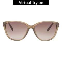 Titan Eye Plus Glares Polycarbonate TR9 crystal green Sunglass for Women-G201CTFL9C