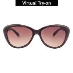 Titan Eye Plus Glares Polycarbonate TR9 Demi Sunglass for Women-G206CTFLMB