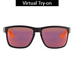Titan Eye Plus Glares Polycarbonate TR9/carbon DARK CARBON Sunglass for Men-G209CTML9A