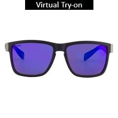 Titan Eye Plus Glares Polycarbonate TR9/carbon DARK CARBON Sunglass for Men-G209CTML9B