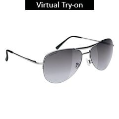 Fastrack Grey Avaitors Sunglass For Men-M083GY1F