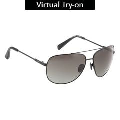 Fastrack Polycarbonate Metal Sunglass for Men-M131GR2