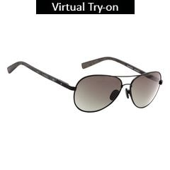 Fastrack Green Pilots Sunglass For Men-M132GR2