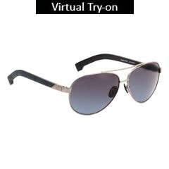 Fastrack Polycarbonate Metal Sunglass for Men-M134BK2