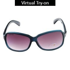 Fastrack Blue Sunglasses For Women-P161BK2F