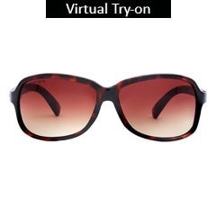Fastrack Brown Sunglasses For Women-P161BR1F