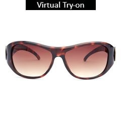 Fastrack Brown Sunglasses For Women-P164BR1F