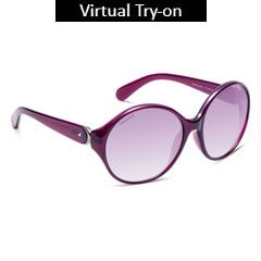 Fastrack Brown And Purple Sunglass For Women-P235PR2F