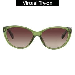 Fastrack Brown Trendy Sunglass For Women-P282BR1F