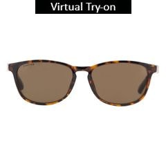 Fastrack Brown Trendy Sunglass For Women-P284BR1