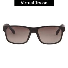 Fastrack Brown Squares Sunglass For Men-P288BR1