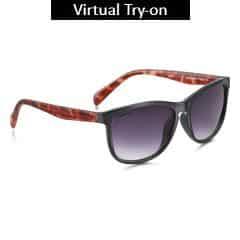 Fastrack Black Squares Sunglass For Women-P325BK2F
