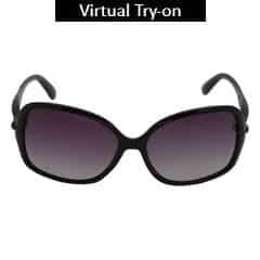 Titan Eye Plus Polaroid INJECTED/PROPION. BLACK Sunglass for Women-SPD0331AA