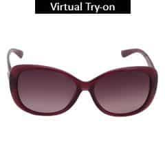 Titan Eye Plus Polaroid INJECTED/PROPION. PURPLE Sunglass for Women-SPD0473AA