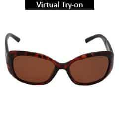 Titan Eye Plus Polaroid POLYAMIDE INJ HV MTLLBW Sunglass for Women-SPD0483AA