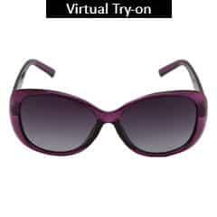 Titan Eye Plus Polaroid ACETATE VIOLET Sunglass for Women-SPD0494AA