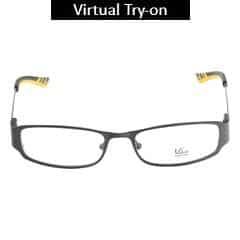 Titan Eye Plus Full Rim Oval Frames for Unisex-Y1064B1A1