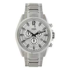 Xylys Silver Dial Chronograph Watch for Men-40005SM01