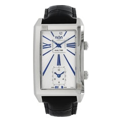 Xylys Silver White Analog Fashion - 40010SL01
