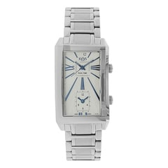 Xylys Silver White Analog Fashion - 40010SM01