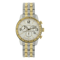 Xylys Silver-White Dial Chronograph Watch for Men-NE90009BM01