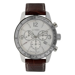 Xylys Silver-White Dial Chronograph Watch for Men-NE90009SL01