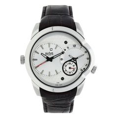 Xylys Fashion White Dial Chronograph Watch For Men-NE9294SL01