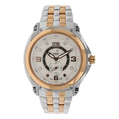 Xylys White Dial Multifunction Analog Watch for Men-NE9330KM01