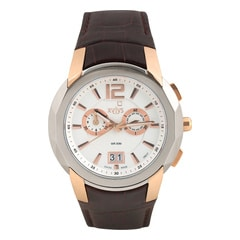 Xylys White Dial Chronograph Watch for Men-NE9431KL02