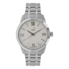 Xylys Silver-White Dial Analog Watch for Men-NE9461SM01