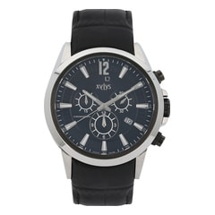 Xylys Black Dial Chronograph Watch for Men