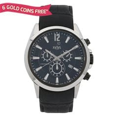 Xylys Black Dial Chronograph Watch for Men-40005KL02